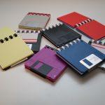 Notizblöcke aus Disketten